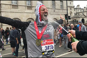 Shark Trust Managing Director, Paul, completes the London Marathon